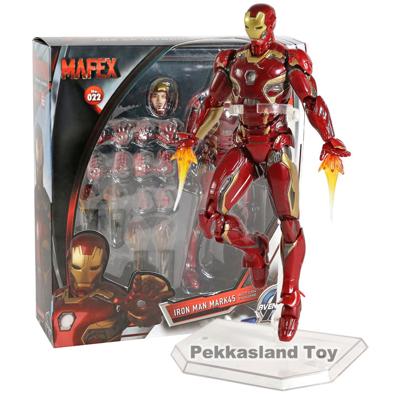 Toys & Hobbies Radient Avengers 3 Inifity War Black Panther Mini Action Figures Iron Man Mk50 Iron Spider Man Deadpool Pvc Figure Toys Brinquedos Anime Latest Technology
