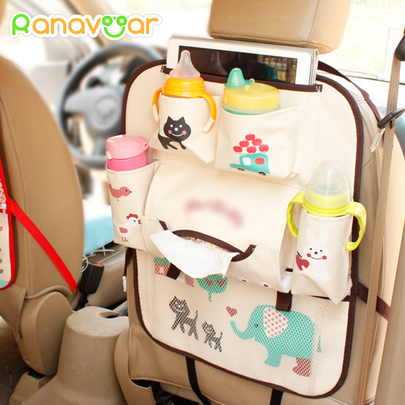 New Design Universal Baby Stroller Bag Organizer Baby Car Hanging Basket Storage Stroller Accessories With IPad Bag cartoon waterproof universal baby stroller bag organizer baby car hanging basket storage stroller accessories