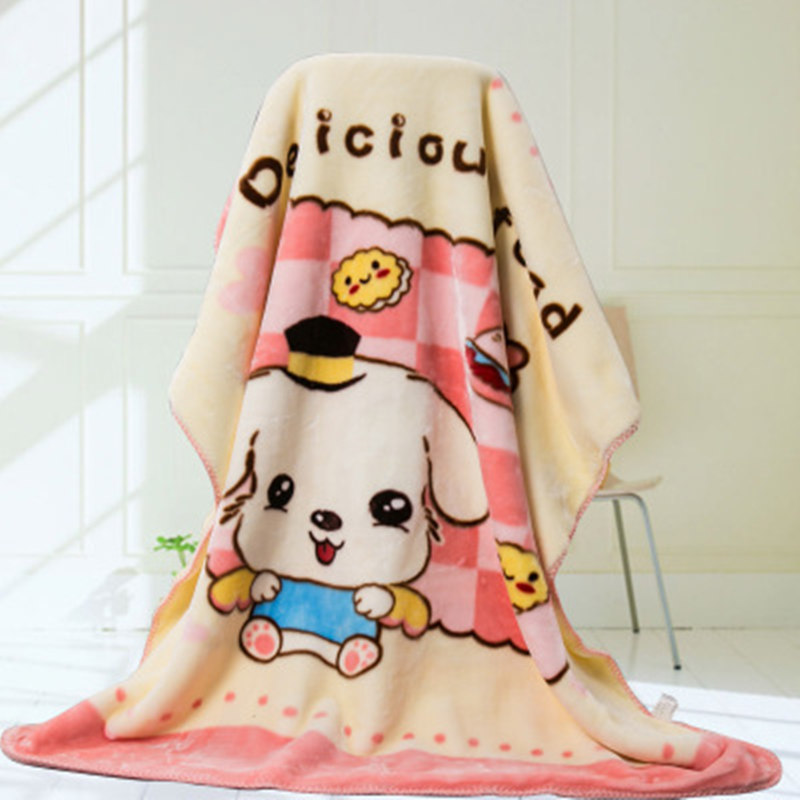 Cartoon Baby Blankets Winter Thick Double Layers Warm Infant Swaddle Bebe Envelope Air Conditioner Throw Baby Bedding Sleeping