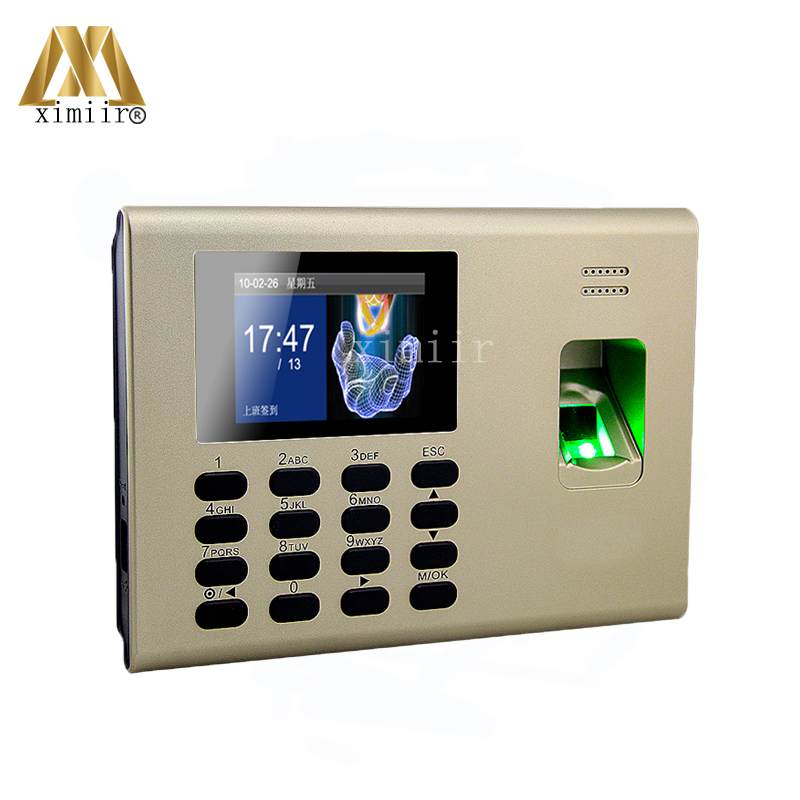 New Arrival TCP/IP Fingerprint Time And Attendance System Built In Back Up Battery Linux System ZK K40 Fingerpint Access Control zk iface701 face and rfid card time attendance tcp ip linux system biometric facial door access controller system with battery