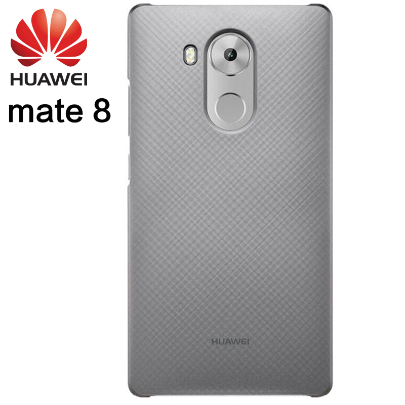 Huawei Mate 8 чехол 100% Оригинальный чехол сетка текстуры защиты ПК Жесткий корпус анти-стук мобильного телефона основа для mate 8 флип