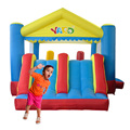 YARD Big Home Use Inflatable Trampoline Double Slide Outdoor Jumping House for Children Special Offer for Hot Zone