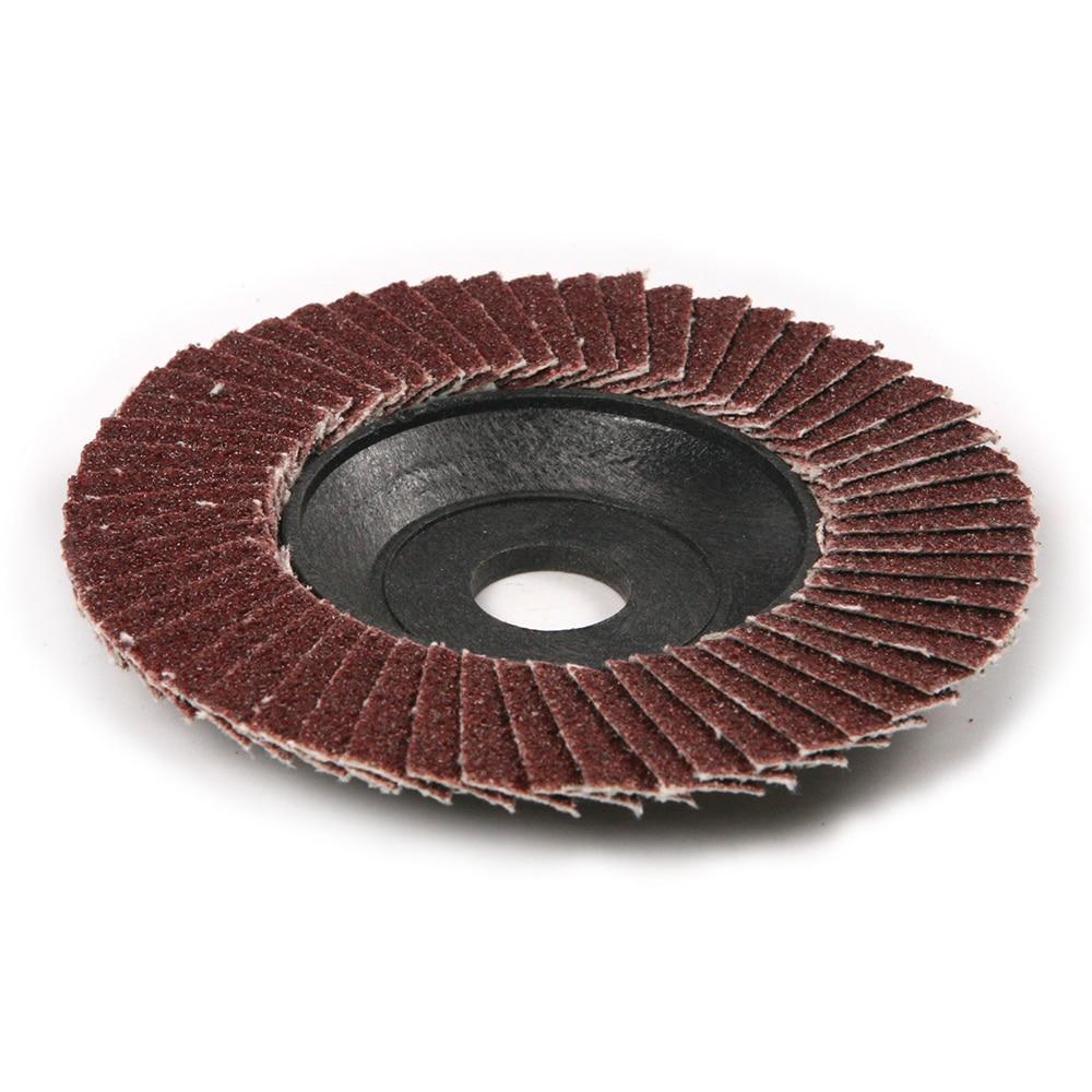 100x16mm Polishing Grinding Wheel Quick Change Sanding Flap Disc For Grit Angle Grinder 80 Grit