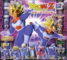 """100% oryginalny BANDAI Gashapon pcv figurka zabawkowa HG 12 pełny zestaw 7 sztuk Z japonia Anime """"Dragon Ball Z"""""""