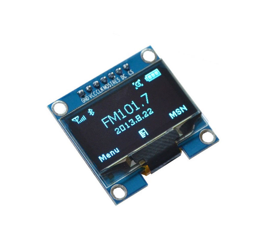 US $5 77 |1 3'' Blue SPI Serial 128X64 OLED LCD Display Screen Module For  Arduino UNO R3-in Replacement Parts & Accessories from Consumer Electronics