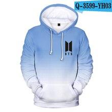 Bangtan7 Blue Hoodie