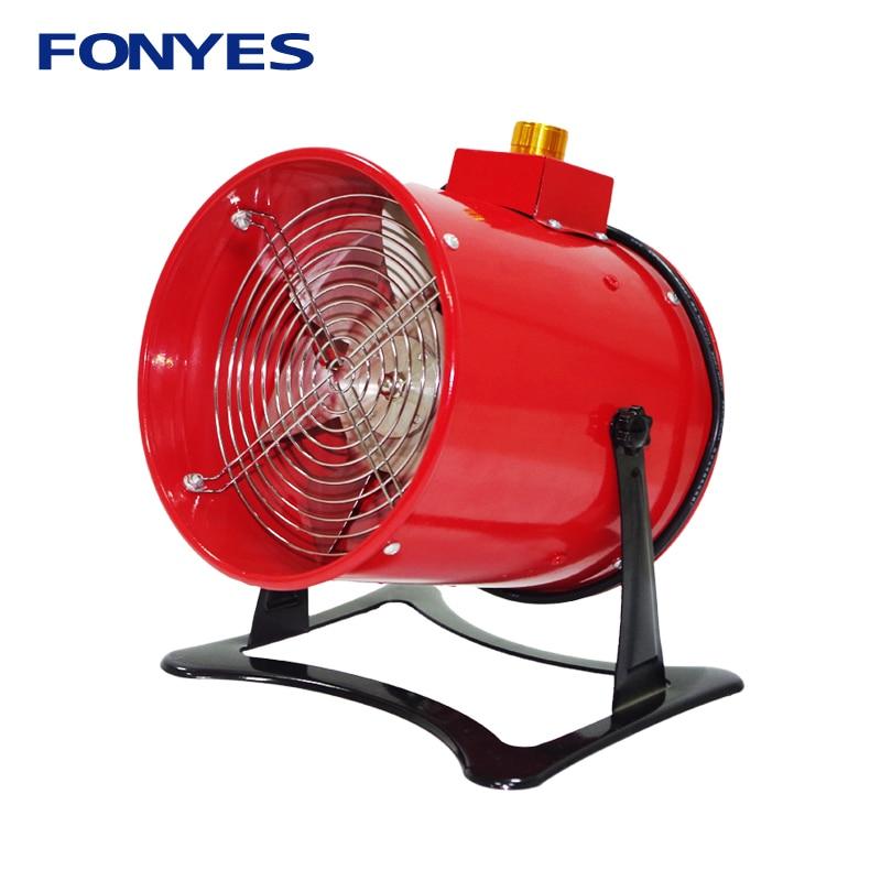 6 ventilation fan standing portable ventilador high speed desk mini extractor exhaust fan metal table axial fan 160mm 220v