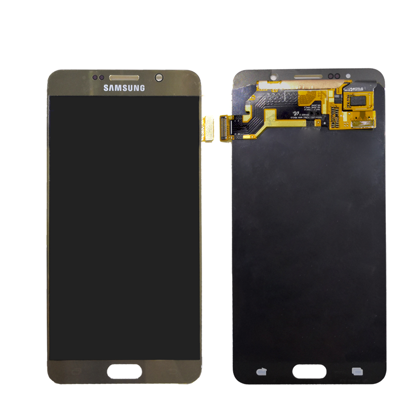 AMOLED For SAMSUNG Galaxy Note 5 Display LCD Touch Screen For SAMSUNG Note 5 Note5 N920A N9200 SM-N920 N920C Original LCD Lahore