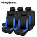 Leather Look Pattern Seat Cover Car Seat Cover Universal Fit Lada Vesta/Renault Megane/Renault Logan/Nissan /Volvo/Peugeot/Ford