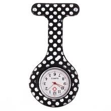 Fashion Nurse Watches Multi-Style Printing Clip-on Fob Brooch Pendant Pocket Watch Hanging Doctor Nurses Medical Quartz Watch SL