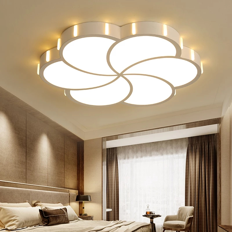 new modern Art Acrylic LED Ceiling Lights Living Room bedroom ceiling lamp bedroom Decorative lampshade Lamparas de techo
