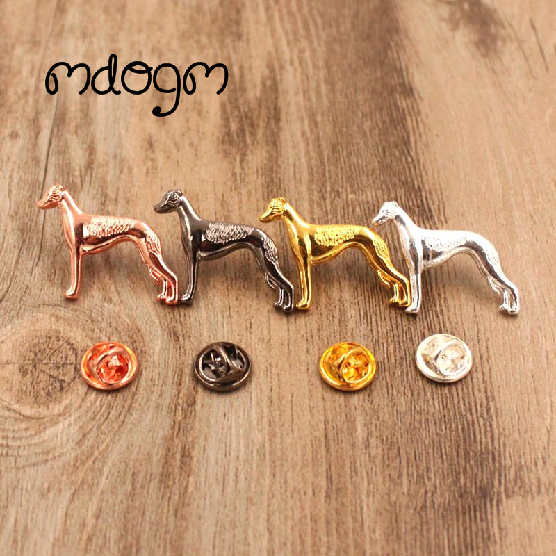 Mdogm 2018 Whippet Terrier Brooches And Pins Wholesale Suit Cute Jewelry Funny Metal Sma ...