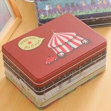 22X16X2 см Ipad Мини жестяная коробка подарочная коробка карта металлическая коробка для хранения