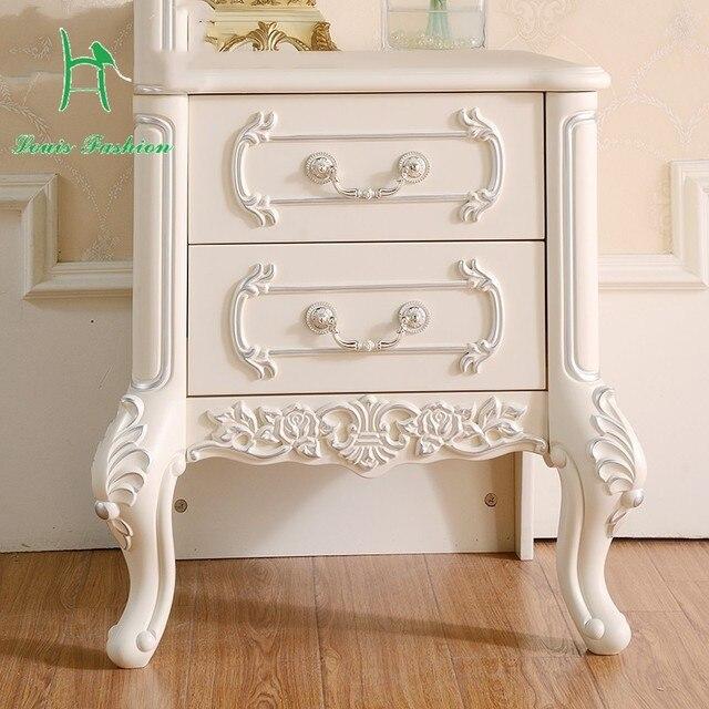 Oferta especial sencilla de madera maciza dormitorio Francés montaje ...