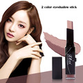 XIXI Eyeshadow Stick Double Color Gradient Velvet Shimmer 6 style Makeup Palette Cosmetic Eye Shadow Cream Pen AC023