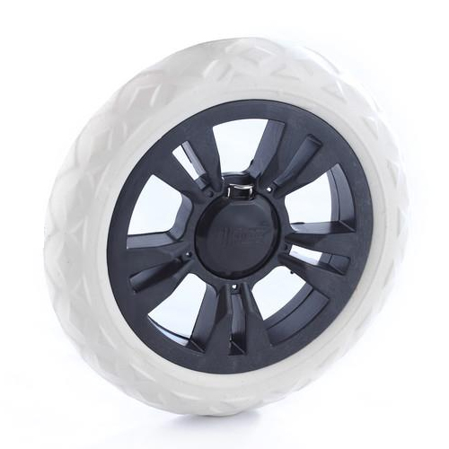 2016 hot sale 17 cm diameter shopping cart wheel accessories Baggage trolley wheels 2pieces/pair