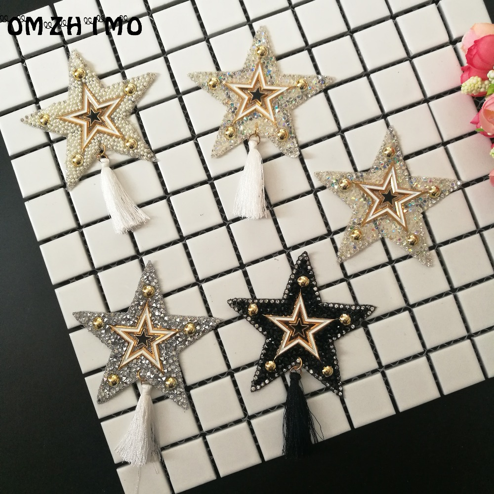 800 pièces étoile design hotfix strass motif fer sur patchs applique pour transfert de chaleur vêtements chaussure sac bricolage