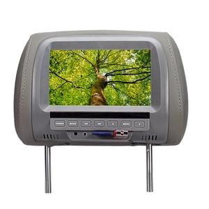 Image 5 - 7 inch TFT LED Screen Video Player Universal Car Headrest Monitor Beige/Gray/Black  AV USB SD MP5 FM Built in Speaker SH7038 MP5