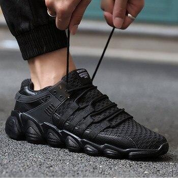 2018 Nuovi uomini di Casual Scarpe Outdoor per gli uomini adulti di alta qualità lace-up Confortevole Athietic mesh Traspirante maschio scarpe da ginnastica ZY-25