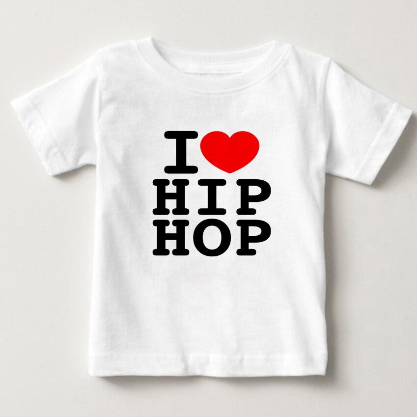 2018 Children hip-hop dance tee t-shirt b-boy breakdancing tshirt best show Kids Clothes short sleeve Baby Boys/Girls Tops