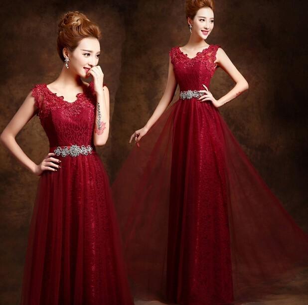 2017 hot Elegante Longo De Uma Linha do assoalho-Comprimento Mãe Formal da Noiva Dubai Kaftan Vermelho Vinho Verde Roxo Frisado Vestidos de noite