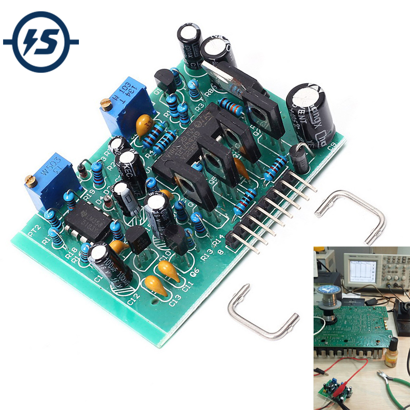 SG3525 LM358 Inverter Driver Board 13-40KHz High Current High Frequency Adjustable DC 12-24V Driving 5000W