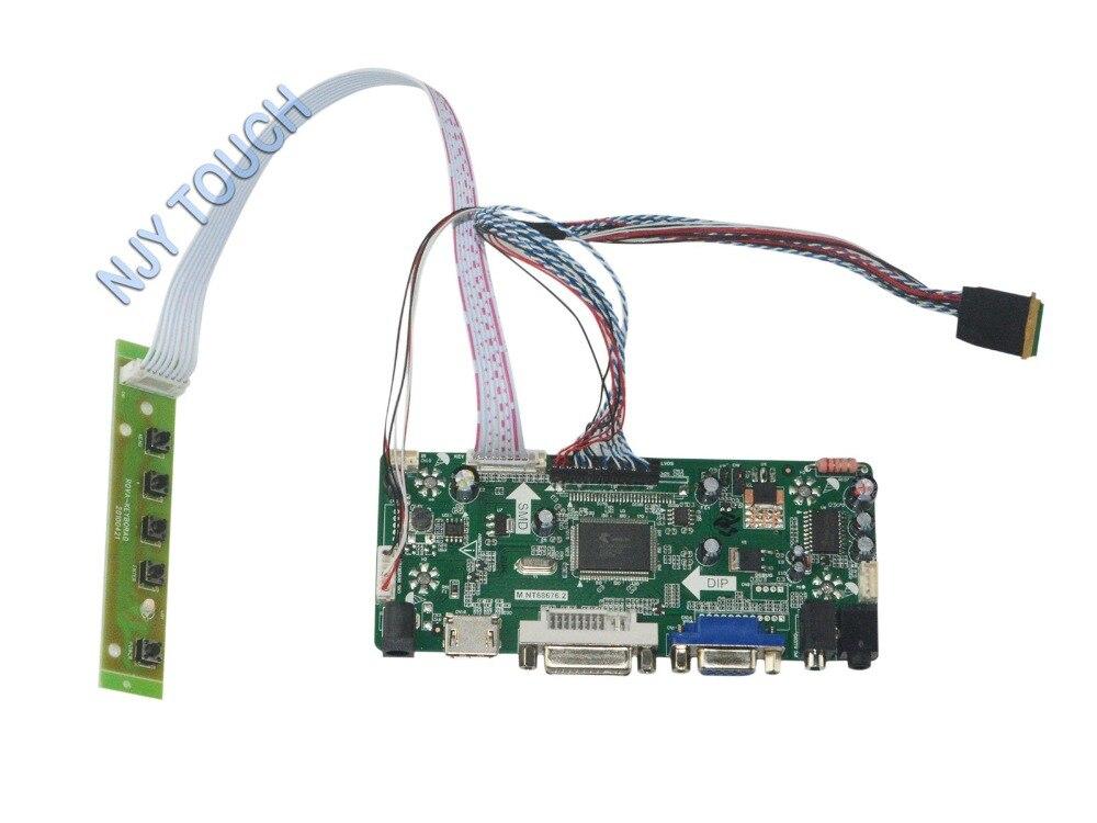 M NT68676 2A Universal HDMI VGA DVI Audio LCD Controller Board for 17 3inch 1600x900 LTN173KT01