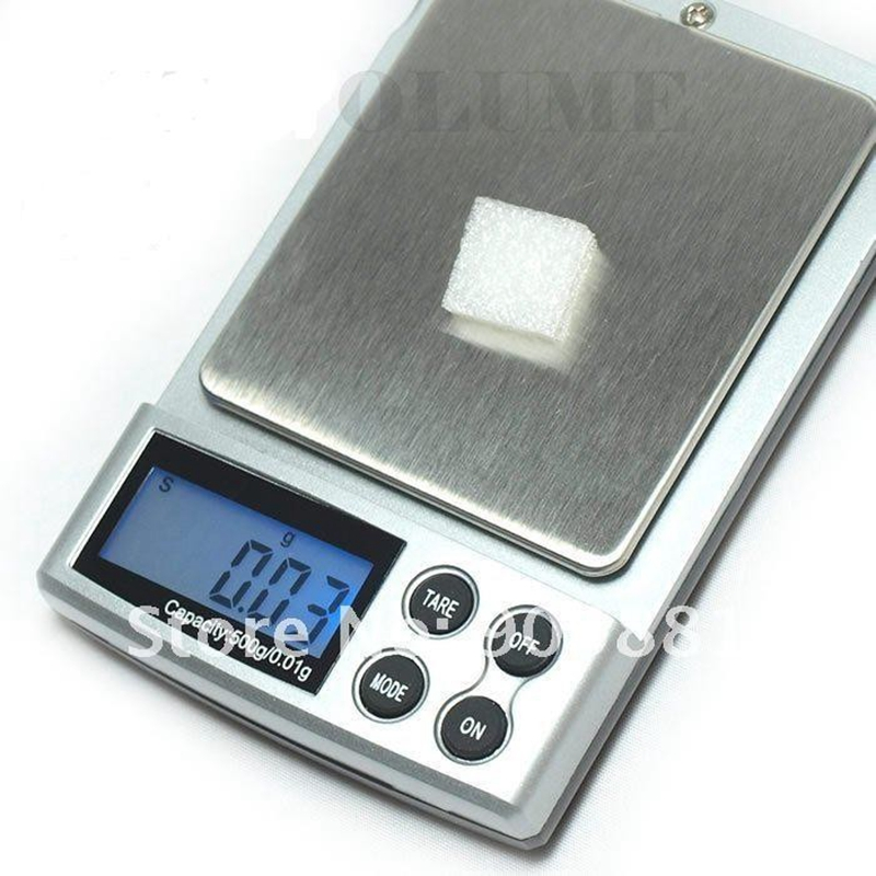 500 g 0,01 g elektronikus digitális ékszer mérlegek 500 g 0,01 - Mérőműszerek - Fénykép 2