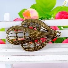 Decoration DIY Embellishments Findings Filigree Connectors Crafts Cactus Metal Retail