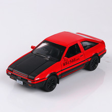 Finger Rock 1:32 AE86 Car Model Electronic Musical Flashing Diecast Metal Car Pull Back Alloy Car Oyuncak Araba Brinquedo Menino