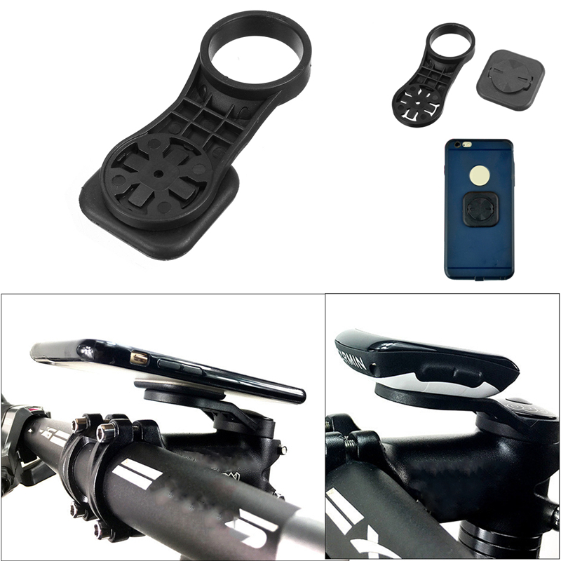 Bike Bicycle Computer Stem Extension Mount Holder with Bracket Adapter For GARMIN Edge FOURIERS SRAM Telefoonhouder Fiets fouriers ha s014 bike bicycle computer mount handlebar stem holder for garmin gps edge mio gopro