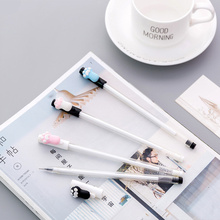 36 pcs Cartoon Cat claw gel pen Black color 0.5mm roller pens Cute gift Stationery Office accessories School supplies FB534
