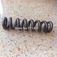 Титан пружина для велосипед шок, gr5 Титан Весна 300lbx185mm Бесплатная длина, 38 мм внутренний диаметр, 9 катушек