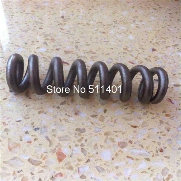 Ressort hélicoïdal en titane pour choc de vélo, ressort en titane Gr5 longueur libre 300lbx185mm, diamètre intérieur 38mm, 9 bobines