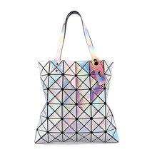 2019 New Crossbody Bags Women Fashion Ladies Shoulder Bag Geometric Beach Laser Large Capacity Messenger bolsos mujer