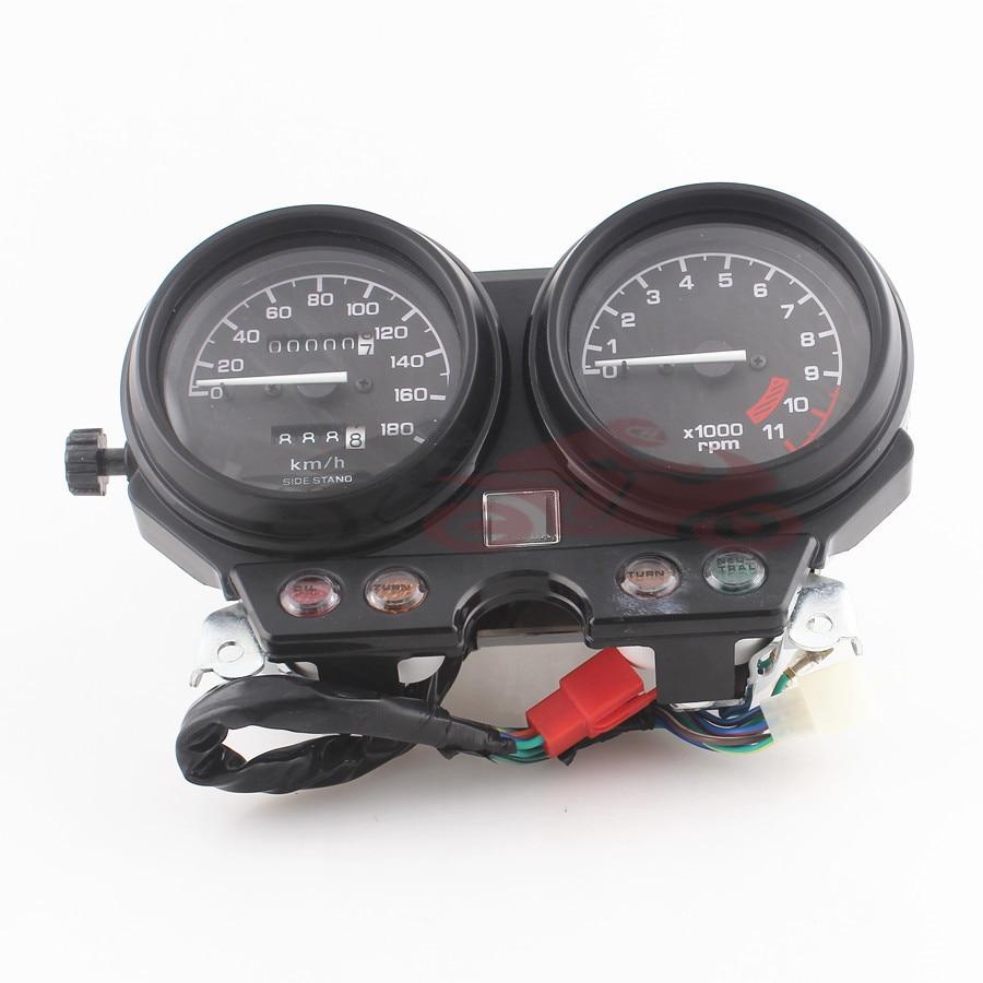 hight resolution of motorcycle instrument tachometer odometer speedometer gauge cluster km h meter for honda cb750 1993 1995 cb 750 93 94 95