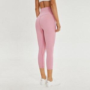 Image 2 - SHINBENE Pantalones Cpari de Fitness para mujer, ropa deportiva elástica de cuatro vías para gimnasio y Yoga, 2,0
