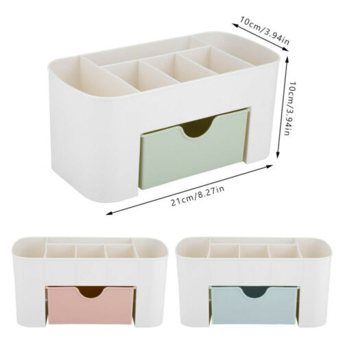 Image 4 - 2019 New Brand Fashion Table Organiser Make up Holder Jewelry Storage Box Cosmetic Desk Drawer Case-in Storage Boxes & Bins from Home & Garden