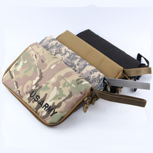 Tactical Pistol Carry Bag Portable Military Handgun Holster Pouch Pistol Hand Gun Soft Case Airsoft Pistol Case Hunting Holsters