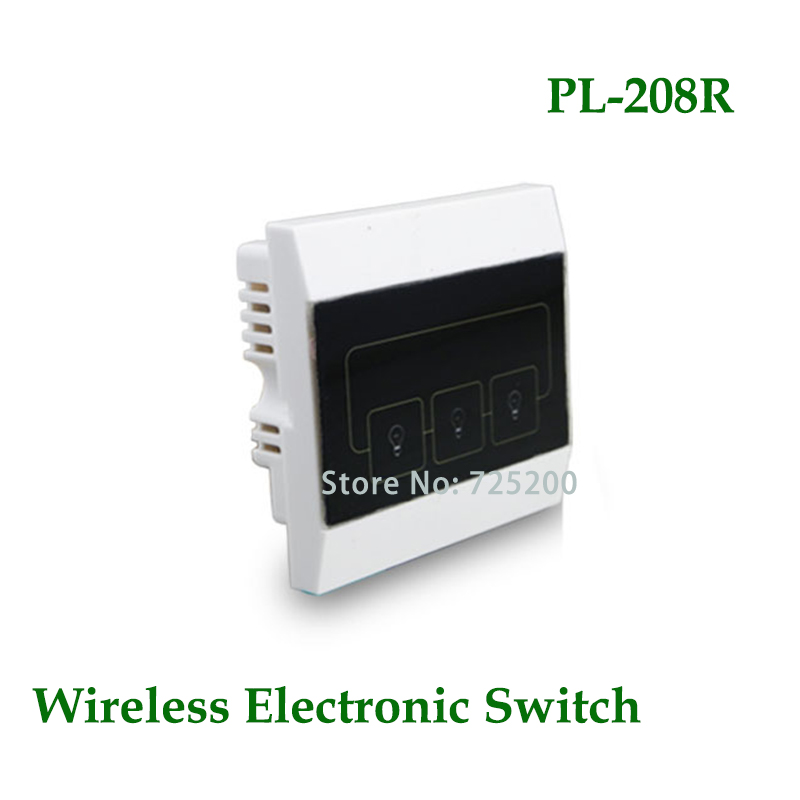 PL 208R 3CH Wireless Home Automation Power Switch Intelligent Switch ...