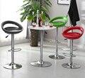 Новый 2 шт. поворотный барный стул для отдыха регулируемый газовый подъемник стулья ABS кресло в форме Луны барные стулья табулеты мебель для ...
