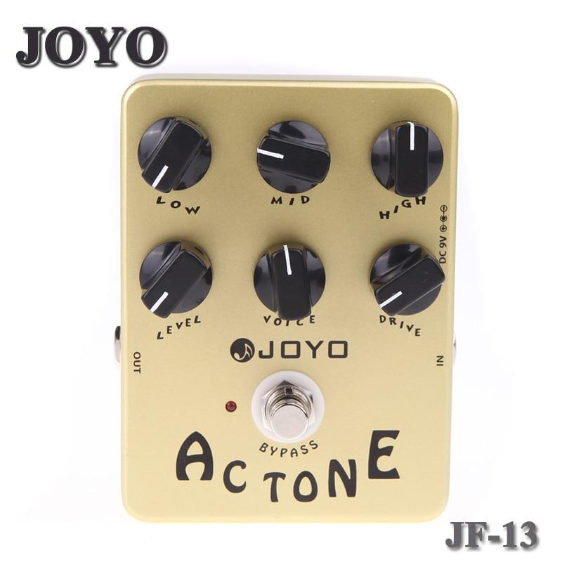 JOYO JF 13 AC Tone Vox Amp Simulator Guitar Effect Pedal True Bypass
