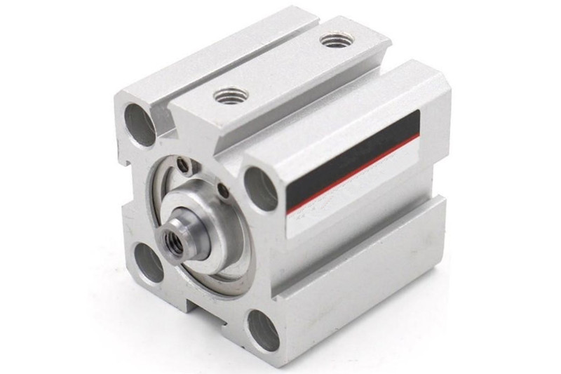 SDA25 stroke 5/10/20/25/30/40/50/55/60/65/100mm SDA Type Bore 25mm double acting compact air pneumatic piston cylinder Female sda type bore 20mm stroke 5 10 15 20 25 30 35 40 45 50mm sda20 double acting compact air pneumatic piston cylinder female