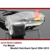 كاميرا الرؤية الخلفية لسيارة مازدا 3 Mazda3 M3 هاتشباك سبورت 04 ~ 13 كاميرا خلفية للسيارة كاميرا احتياطية HD CCD كاميرا للرؤية الليلية للسيارة-في كاميرا مركبة من السيارات والدراجات النارية على