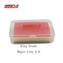 MARFLO King Car Wash Sponge Magic Clay Bar 2.0 Clean Clay Bar Auto Detailing Cleaner Car Paint Care