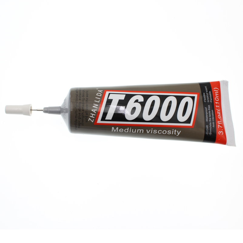 110ML Super Strong T6000 Glue Liquid Metal Textile Clothes Fabric Wood T-6000 Adhesive Stationery Store Bts DIY Auto UV 250ml silicone liquid glue textile clothes fabric paper wood epoxy resin stationery store scrapbooking accessory tool bottle bts