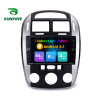 Octa Core ROM 64GB Android 8.1 Car DVD GPS Navigation Player Deckless Car Stereo For KIA Cerato 2007 2016 Radio Headunit Device