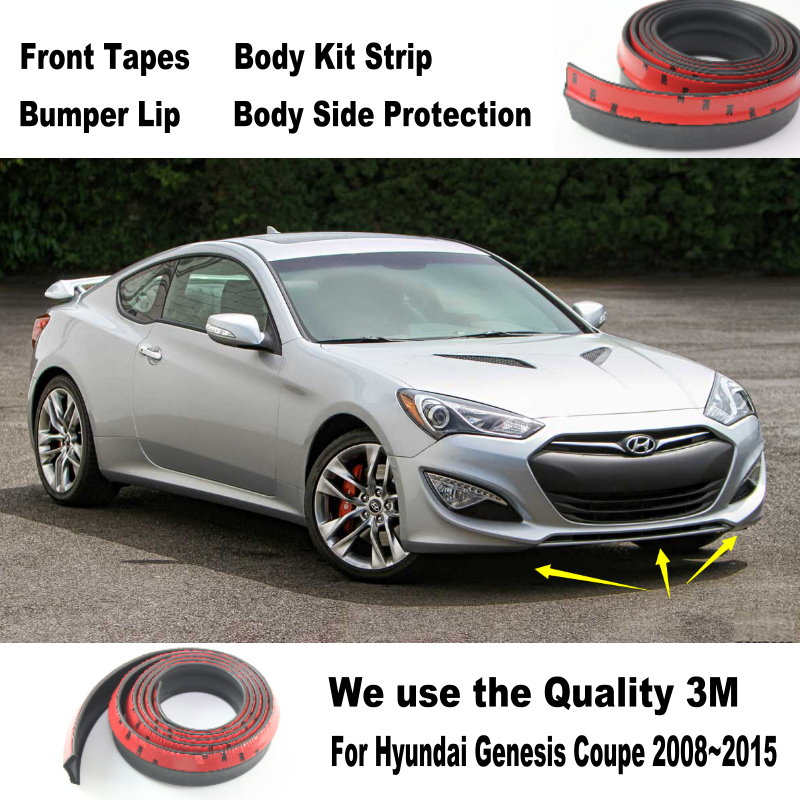 car bumper lips for hyundai genesis coupe 2008 2015 car. Black Bedroom Furniture Sets. Home Design Ideas