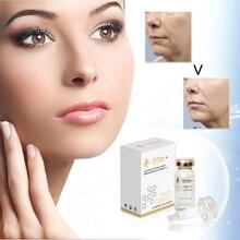 2017 Kolagenové elastické peptidové sérum pro sérum pro zklidnění obličeje před a po přirozeném ošetření s účinným receptem