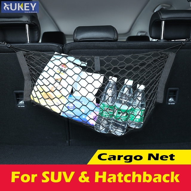 Amazing Back Rear Seat Cargo Net Trunk Hanging Mesh Luggage Storage Web Accessories Fit For Car Suv Simple - Cool trunk luggage Pictures
